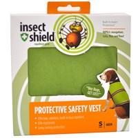 Insect Shield Protective Safety Vest Small Green