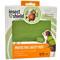 Insect Shield® Protective Safety Vest Small/Medium - Green