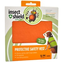 Insect Shield® Protective Safety Vest Small/Medium - Orange