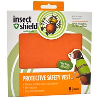 Insect Shield® Protective Safety Vest Small - Orange