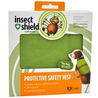 Insect Shield® Protective Safety Vest XSmall - Green