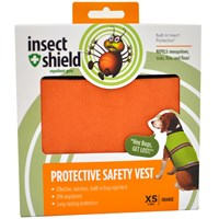 Insect Shield® Protective Safety Vest XSmall Orange