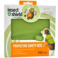 Insect Shield® Protective Safety Vest XXLarge - Green
