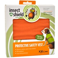 Insect Shield Protective Safety Vest XXLarge - Orange