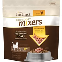 Instinct Raw Boost Frozen Mixers - Chicken (8 oz)