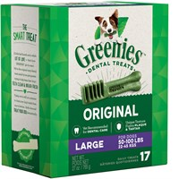 Greenies Treat Tub-Pak Canister Large 27 oz. (17 Bones)