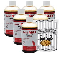 6-PACK Joint MAX® Liquid for Cats (48 fl oz) + FREE Kitty Kuisine™