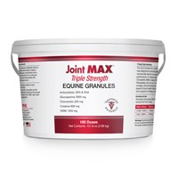 Joint MAX TRIPLE Strength EQ GRANULES for HORSES (180 Doses, 2.88kg)