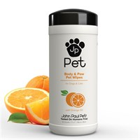 John Paul Pet Full Body and Paw Bath Wipes (45 ct.)