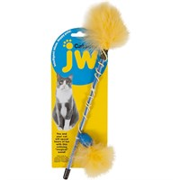 jw pet cataction feather wand on lovemypets.com