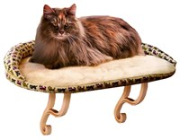 "K&H Kitty Sill Deluxe with Bolster (14"" x 24"")"