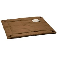 "K&H Self-Warming Pet Crate Pad - Mocha (14""x22"")"