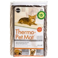 "K&H Thermo-Pet Mat 14"" x 28"" - Mocha"