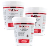 3-PACK K-Plus™ Potassium Citrate Plus Cranberry (900g Granules)