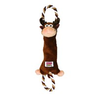KONG® Tugger Knots Moose Dog Toy - Medium/Large