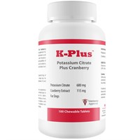 K-Plus™ Potassium Citrate Plus Cranberry (100 Tablets)