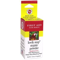 Miracle Care Kwik Stop Styptic Powder for Birds 05 oz