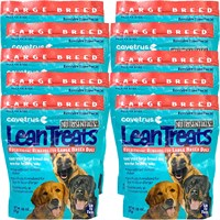 Lean Treats - Nutritional Rewards for LARGE BREED DOGS 10-PACK (6.3 lbs)