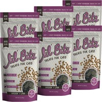 6-PACK Lil' Bitz Chicken & Liver Training Treats for Cats (18 oz)