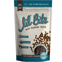 Lil' Bitz™ Flame Roasted Chicken Traning Treats (4 oz)
