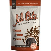 Lil' Bitz Hickory Smoked Beef Training Treats (4 oz)