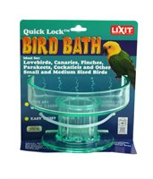 Image of Lixit Quick Lock Bird Bath