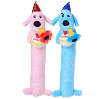 12andquot; loofa birthday plush (pink) on lovemypets.com