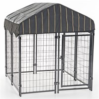 "Lucky Dog™ Pet Resort Kennel w/Cover - 52""H x 4'W x 4'L"