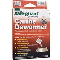 Merck Safeguard Canine Dewormer 3-pack (1 gm)
