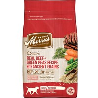 Merrick Classic Real Beef, Whole Barley & Carrots Adult Dog Food (4 lbs)