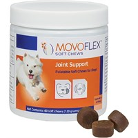 MovoFlex Joint Support for Dogs - Small (60 Soft Chews)