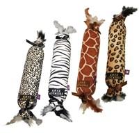 "Multipet Katz Kickerz - 17"" (Assorted Safari Prints)"