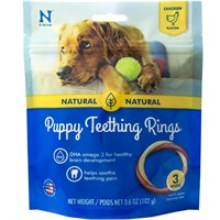 N-Bone® Puppy Teething Ring Chicken Flavor - 3 Pack (3.6 oz)