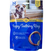N-Bone® Puppy Teething Ring Chicken Flavor - 6 Pack (7.2 oz)