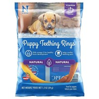 N-Bone® Puppy Teething Ring Pumpkin Flavor - Single