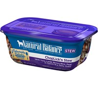 Image of Natural Balance Delectable Delights - ChopLick'n Stew Wet Dog Food (12x8 oz)