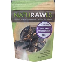 NatuRAWls Duck Hearts (3.53 oz)