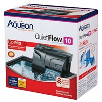 Aqueon QuietFlow 10 Aquarium Power Filter