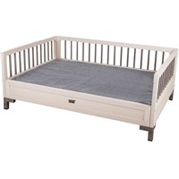 New Age Pet Raised Dog Bed with