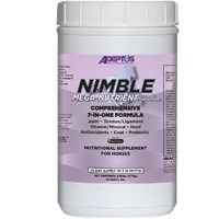 Adeptus Nimble Mega-Nutrient 7-In-One Formula for Horses (3.75 lbs)
