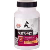 Nutri-Vet Probiotics for Dogs (60 Capsules)