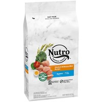 Nutro Natural Choice Wholesome Essentials Chicken, Brown Rice & Oatmeal - Puppy (15 lb)