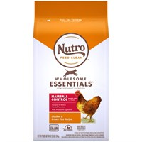 Nutro Natural Choice Hairball Control Chicken & Whole Brown Rice - Adult Cat (3 lb)