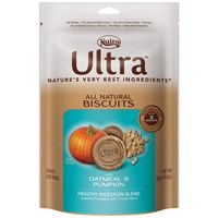 Nutro Ultra Pumpkin & Oatmeal Dog Biscuits (16 oz)
