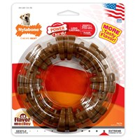 Nylabone DuraChew Plus Textured Ring Dog Chew Dog Toy - Large
