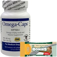 Omega-Caps For Medium Dogs (60 Softgel Capsules)