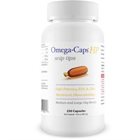 Omega-Caps™ HP snip tips for Medium & Large Dogs (250 Capsules)
