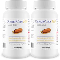 2-PACK Omega-Caps™ HP snip tips for Medium & Large Dogs (500 Capsules)