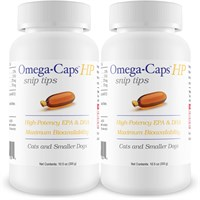 2-PACK Omega-Caps™ HP snip tips for Cats & Small Dogs (500 Capsules)