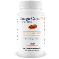 Omega-Caps™ HP snip tips for Cats & Small Dogs (60 Capsules)